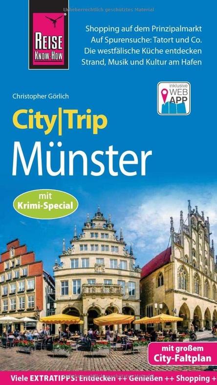 Münster, CityTrip 9783831731534  Reise Knowhow City Trip  Reisgidsen Münsterland