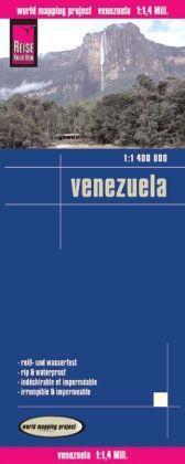 landkaart, wegenkaart Venezuela 1:1.400.000 9783831772216  Reise Know-How WMP Polyart  Landkaarten en wegenkaarten Venezuela, Isla Margarita