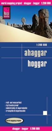 landkaart, wegenkaart Ahaggar, Hoggar 1:200.000 9783831772384  Reise Know-How WMP Polyart  Landkaarten en wegenkaarten Algerije, Tunesië, Libië