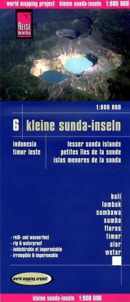 landkaart, wegenkaart Kleine Sunda eilanden 1:800.000 9783831772391  Reise Know-How WMP Polyart  Landkaarten en wegenkaarten Indonesië