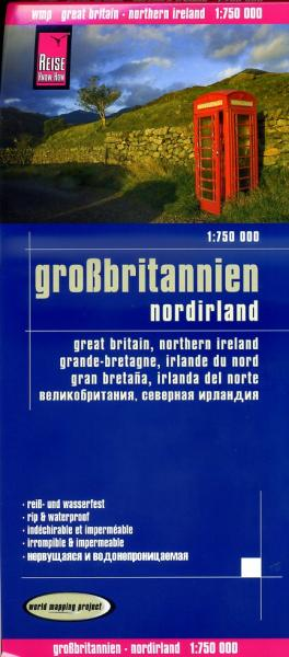 landkaart, wegenkaart Groot-Brittannië 1:750.000 9783831772605  Reise Know-How WMP Polyart  Landkaarten en wegenkaarten Groot-Brittannië