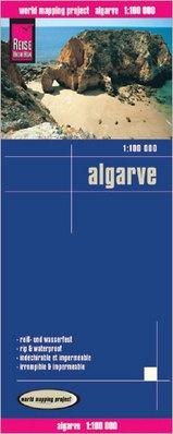 landkaart, wegenkaart Algarve 1:100.000 9783831772759  Reise Know-How WMP Polyart  Landkaarten en wegenkaarten Zuid-Portugal, Algarve