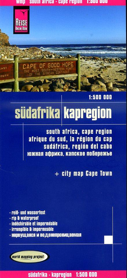 landkaart, wegenkaart Zuid-Afrika: Kaapprovincie 9783831772940  Reise Know-How WMP Polyart  Landkaarten en wegenkaarten Zuid-Afrika
