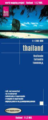 landkaart, wegenkaart Thailand 1:1.200.000 9783831772971  Reise Know-How WMP Polyart  Landkaarten en wegenkaarten Thailand