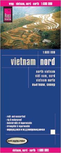 landkaart, wegenkaart Noord-Vietnam 1:600.000 9783831772988  Reise Know-How WMP Polyart  Landkaarten en wegenkaarten Vietnam
