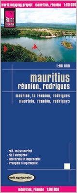 landkaart, wegenkaart Mauritius, Reunion 1:90.000 9783831773169  Reise Know-How WMP Polyart  Landkaarten en wegenkaarten Seychellen, Reunion, Comoren, Mauritius