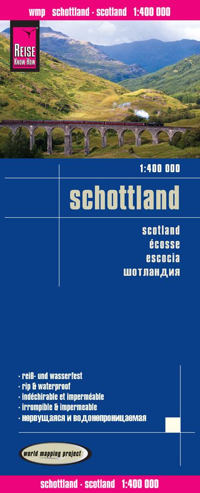 landkaart, wegenkaart Schotland 1:400.000 9783831773220  Reise Know-How WMP Polyart  Landkaarten en wegenkaarten Schotland