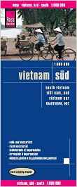 landkaart, wegenkaart Zuid-Vietnam 1:600.000 9783831773251  Reise Know-How WMP Polyart  Landkaarten en wegenkaarten Vietnam