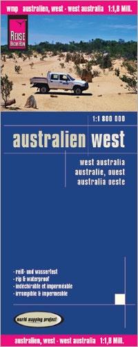 landkaart, wegenkaart West Australia 1:1.800.000 9783831773275  Reise Know-How WMP Polyart  Landkaarten en wegenkaarten Australië
