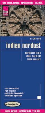 landkaart, wegenkaart India Noordoost 1:1.300.000 9783831773305  Reise Know-How WMP Polyart  Landkaarten en wegenkaarten India