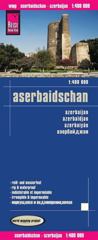 landkaart, wegenkaart Azerbeidzjan 1:400.000 9783831773329  Reise Know-How WMP Polyart  Landkaarten en wegenkaarten Azerbeidzjan