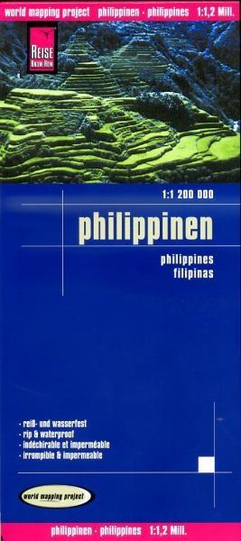 landkaart, wegenkaart Filippijnen 1:1.200.000 9783831773428  Reise Know-How WMP Polyart  Landkaarten en wegenkaarten Filippijnen