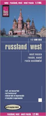 landkaart, wegenkaart West-Rusland 1:2.000.000 9783831773442  Reise Know-How WMP Polyart  Landkaarten en wegenkaarten Europees Rusland