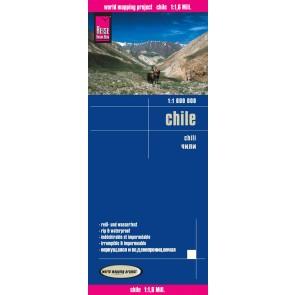 landkaart, wegenkaart Chili 1:1.600.000 9783831773466  Reise Know-How WMP Polyart  Landkaarten en wegenkaarten Chili, Argentinië, Patagonië