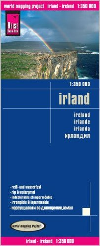 landkaart, wegenkaart Ierland 1:350.000 9783831773473  Reise Know-How WMP Polyart  Landkaarten en wegenkaarten Ierland