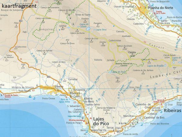landkaart, wegenkaart Azoren 1:70.000 9783831773626  Reise Know-How WMP Polyart  Landkaarten en wegenkaarten Azoren