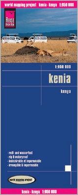 landkaart, wegenkaart Kenia 1:950.000 9783831773640  Reise Know-How WMP Polyart  Landkaarten en wegenkaarten Kenia