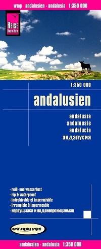 landkaart, wegenkaart Andalusië 1:350.000 9783831773688  Reise Know-How WMP Polyart  Landkaarten en wegenkaarten Andalusië