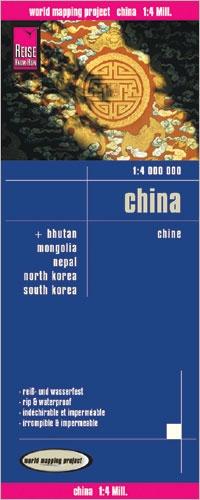 landkaart, wegenkaart China 1:4.000.000 9783831773756  Reise Know-How WMP Polyart  Landkaarten en wegenkaarten China (Tibet: zie Himalaya)