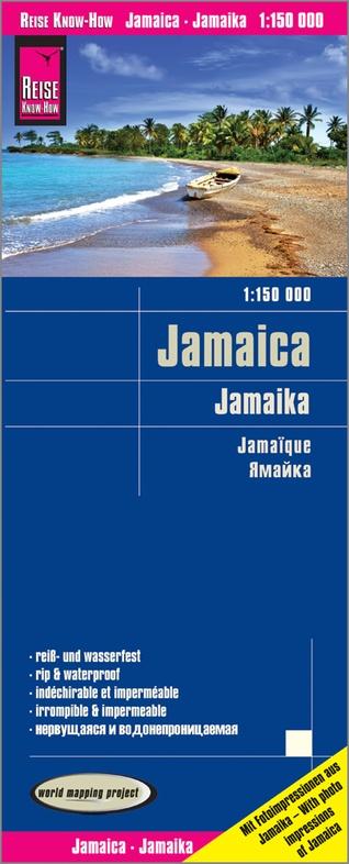 landkaart, wegenkaart Jamaica 1:150.000 9783831774098  Reise Know-How WMP Polyart  Landkaarten en wegenkaarten Overig Caribisch gebied