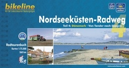 Bikeline Nordseeküsten-Radweg 4 | fietsgids 9783850000659  Esterbauer Bikeline  Fietsgidsen, Meerdaagse fietsvakanties Denemarken