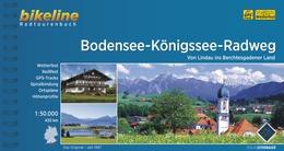 Bikeline Bodensee-Königssee Radweg | fietsgids 9783850001281  Esterbauer Bikeline  Fietsgidsen Beierse Alpen