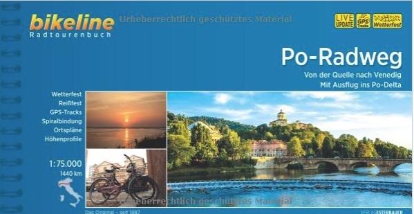 Bikeline Po-Radweg | fietsgids 9783850001434  Esterbauer Bikeline  Fietsgidsen, Meerdaagse fietsvakanties Noord-Italië