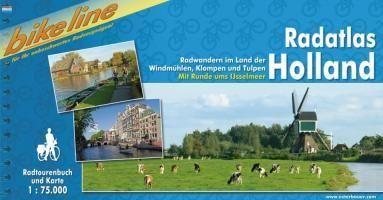 Bikeline Holland, Radatlas   fietsgids 9783850002424  Esterbauer Bikeline  Fietsgidsen Nederland