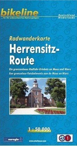 RWK-HERREN  Herrensitz Route 1:50.000 9783850002530  Esterbauer Bikeline Radkarten  Fietskaarten Niederrhein
