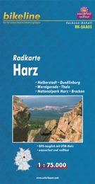 RK-SAA05  Nationalpark Harz 1:75.000 9783850003179  Esterbauer Bikeline Radkarten  Fietskaarten Brandenburg & Sachsen-Anhalt, Harz