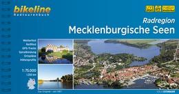 Bikeline Mecklenburger Seen, Radatlas   fietsgids 9783850003636  Esterbauer Bikeline  Fietsgidsen Mecklenburg-Vorpommern