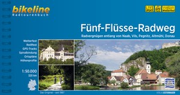 Bikeline Fünf Flüsse | fietsgids 9783850003674  Esterbauer Bikeline  Fietsgidsen Franken, Nürnberg, Altmühltal
