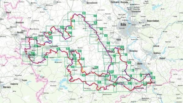 Bikeline Wasserburgenroute Radtourenbuch | fietsgids 9783850003735  Esterbauer Bikeline  Fietsgidsen Aken, Keulen en Bonn