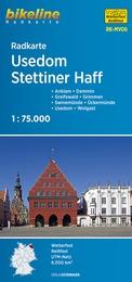 RK-MV06 Usedom, Stettiner Haff Fietskaart 1:75.000 9783850003834  Esterbauer Bikeline Radkarten  Fietskaarten Mecklenburg-Vorpommern