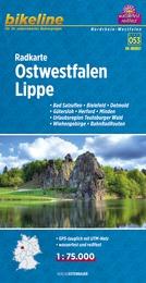 RK-NRW07  Ostwestfalen, Lippe  1:75.000 9783850003889  Esterbauer Bikeline Radkarten  Fietskaarten Teutoburger Woud & Ostwestfalen