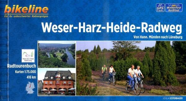 Bikeline Weser-Harz-Heide-Radweg | fietsgids 9783850004213  Esterbauer Bikeline  Fietsgidsen Lüneburger Heide, Hannover, Weserbergland
