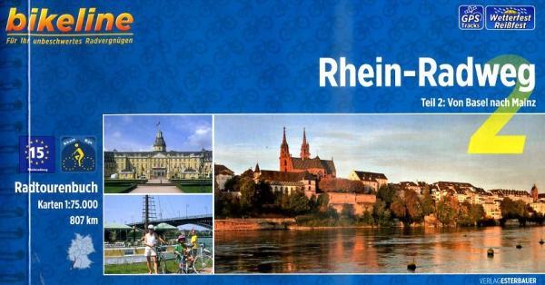 Bikeline Rhein-Radweg 2: Basel - Mainz | fietsgids 9783850004480  Esterbauer Bikeline  Fietsgidsen, Meerdaagse fietsvakanties Baden-Württemberg