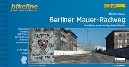 Bikeline Berliner Mauer-Radweg | fietsgids 9783850004572  Esterbauer Bikeline  Fietsgidsen, Historische reisgidsen Berlijn