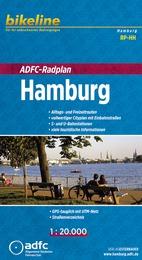 RP-HH  Hamburg 1:20.000 | stadsplattegrond voor fietsers 9783850004763  ADFC   Stadsplattegronden Hamburg