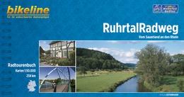 Bikeline Ruhrtal-Radweg   fietsgids 9783850004879  Esterbauer Bikeline  Fietsgidsen Ruhrgebied, Sauerland