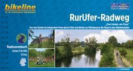 Bikeline RurUfer-Radweg | fietsgids 9783850004923  Esterbauer Bikeline  Fietsgidsen, Meerdaagse fietsvakanties Aken, Keulen en Bonn, Niederrhein