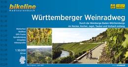 Bikeline Württemberger Weinradweg | fietsgids 9783850004992  Esterbauer Bikeline  Fietsgidsen Baden-Württemberg