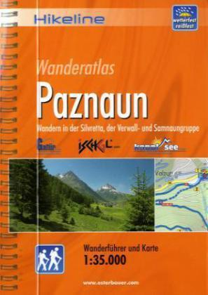 Paznaun Wanderatlas | Hikeline Wanderführer (wandelgids) 9783850005296  Esterbauer Hikeline wandelgidsen  Wandelgidsen Tirol & Vorarlberg