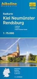 RK-SH04  Kiel, Neumünster, Rendsburg 9783850005937  Esterbauer Bikeline Radkarten  Fietskaarten Sleeswijk-Holstein