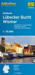 RK-MV01  Lübecker Bucht - Wismar fietskaart 9783850006125  Esterbauer Bikeline Radkarten  Fietskaarten Mecklenburg-Vorpommern