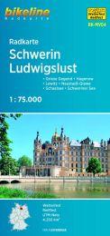 RK-MV04  Schwerin - Ludwigslust fietskaart 9783850006132  Esterbauer Bikeline Radkarten  Fietskaarten Mecklenburg-Vorpommern