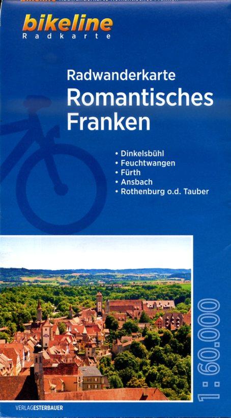 KK-ROM  Romantisches Franken | fietskaart 1:60.000 9783850006187  Esterbauer Bikeline Radkarten  Fietskaarten Franken, Nürnberg, Altmühltal