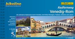 Bikeline Radfernweg Venedig-Rom | fietsgids 9783850006675  Esterbauer Bikeline  Fietsgidsen, Meerdaagse fietsvakanties Italië