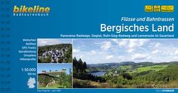 Bikeline Bergisches Land, Flüsse und Bahnstrassen | fietsgids 9783850006811  Esterbauer Bikeline  Fietsgidsen Düsseldorf, Wuppertal & Bergisches Land