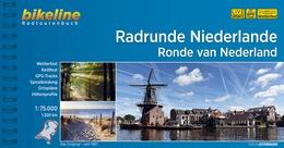 Bikeline Radrunde Niederlande | fietsgids 9783850006859  Esterbauer Bikeline  Fietsgidsen Nederland
